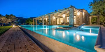 Artina Luxury Villa Zakynthos Link to The Villa page
